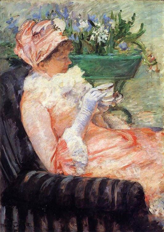 Mary Cassatt The Cup Of Tea 2