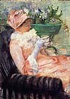 Mary Cassatt The Cup Of Tea 2 painting