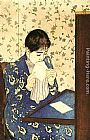 Mary Cassatt The Letter painting