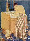 Mary Cassatt Woman Bathing painting