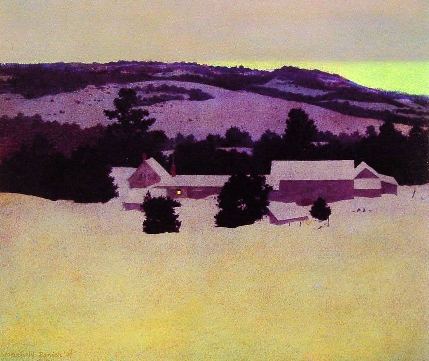Maxfield Parrish Daniel's Farm