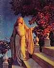 Maxfield Parrish Cinderella painting