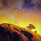 Maxfield Parrish Cobble Hill painting