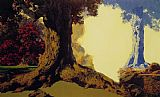 Maxfield Parrish Dreaming October painting