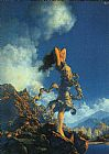 Maxfield Parrish Ecstasy painting