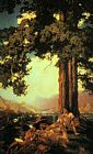 Maxfield Parrish Hilltop painting