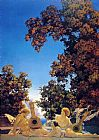 Maxfield Parrish Interlude painting
