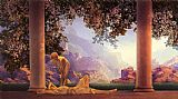 Maxfield Parrish daybreak painting