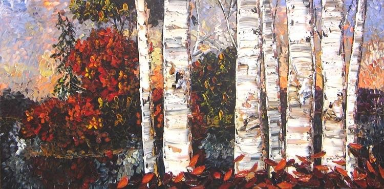 Maya Eventov Fallen Leaves