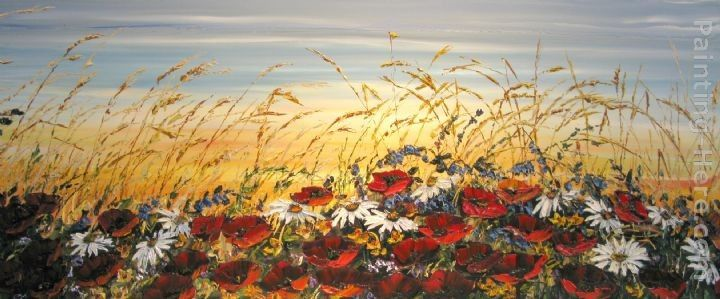 Maya Eventov Wildflowers in the Breeze