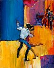 Maya Green Dancing with the Stars painting