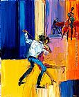 Maya Green Let's Dance painting