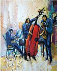 Maya Green The Passion of Music painting