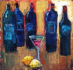 Maya Green Wine Art painting