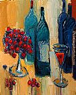 Maya Green Wine Selections painting