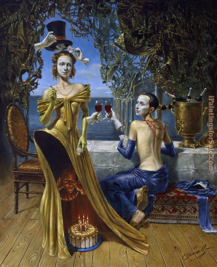 Michael Cheval Magician Birthday