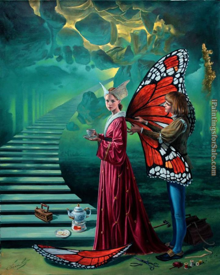 Michael Cheval Stairway To Heaven