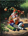 Michael Cheval Air of Attraction painting