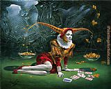 Michael Cheval Balance of Disparities painting