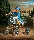 Michael Cheval Dodocycle II painting