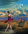 Michael Cheval Fortuity Of Choices painting