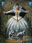 Michael Cheval Fury Path painting