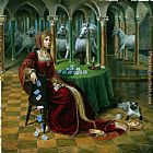 Michael Cheval Heritage of the Future painting
