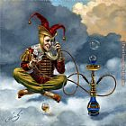 Michael Cheval Local Call painting
