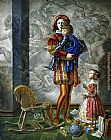 Michael Cheval Lullaby for the Hero painting