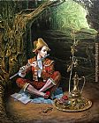 Michael Cheval Magic Flute II Elementary Selection painting