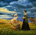 Michael Cheval On the Way Of Destiny painting