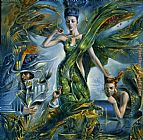 Michael Cheval Proserpina painting