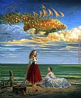 Michael Cheval Secrets of Mastery II painting