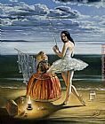 Michael Cheval Secrets of Mastery painting