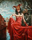 Michael Cheval Twelfth Caprice of Casanova painting