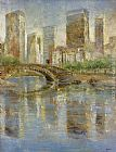 Michael Longo Central Park painting