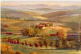 Michael Longo tranquil tuscany painting
