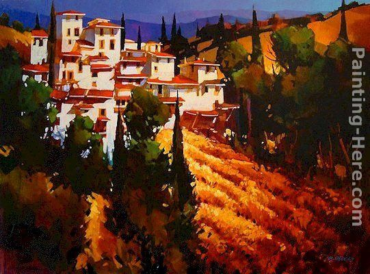 Michael O'Toole Toscana Hillside