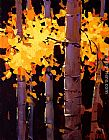 Michael O'Toole Aspen Grove painting