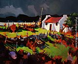 Michael O'Toole Donegal Storm painting