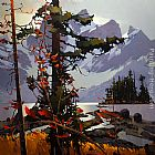 Michael O'Toole Dreaming of Kananaskis painting