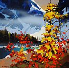 Michael O'Toole Fall's Fever in Tonquin painting