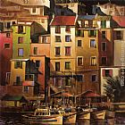 Mediterranean paintings - Mediterranean Gold by Michael O'Toole