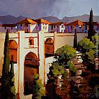 Michael O'Toole Ronda, Spain painting