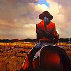 Michael O'Toole The Way of the Gaucho painting