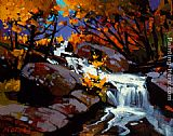 Michael O'Toole Tumble Creek painting