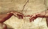 Creation of Adam hand