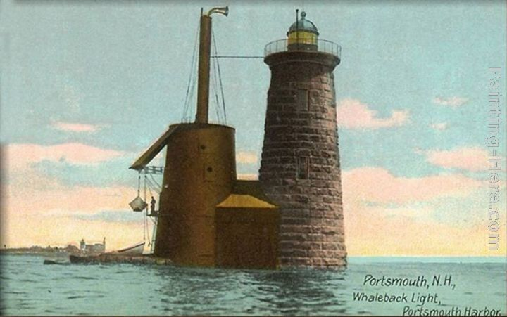 Norman Parkinson Whaleback Lighthouse, Portsmouth, New Hampshire