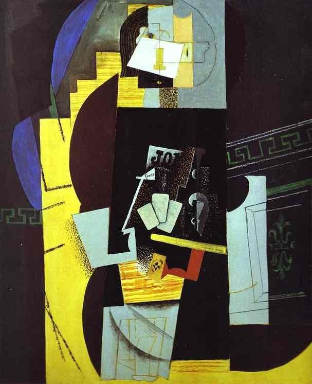 Pablo Picasso Card Player