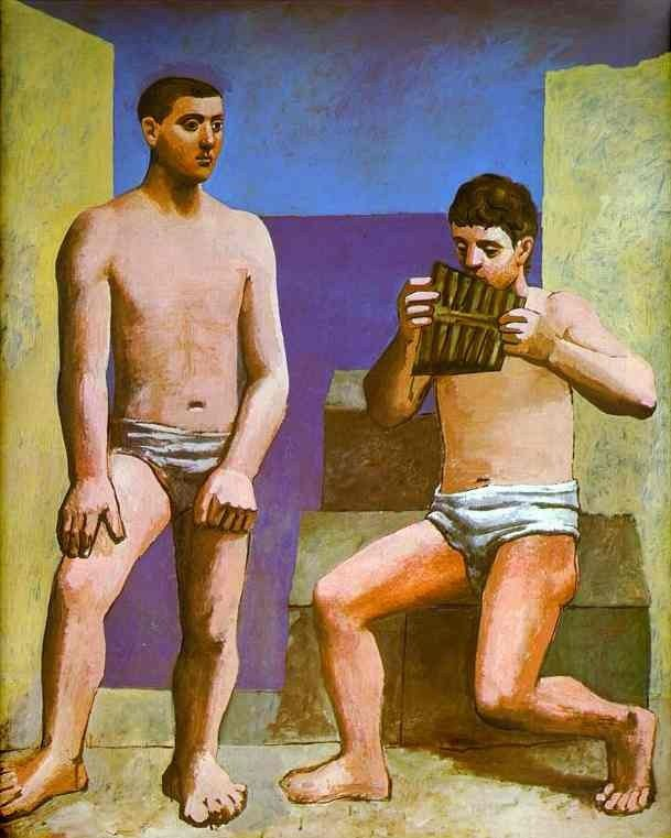 Pablo Picasso The Pipes of Pan